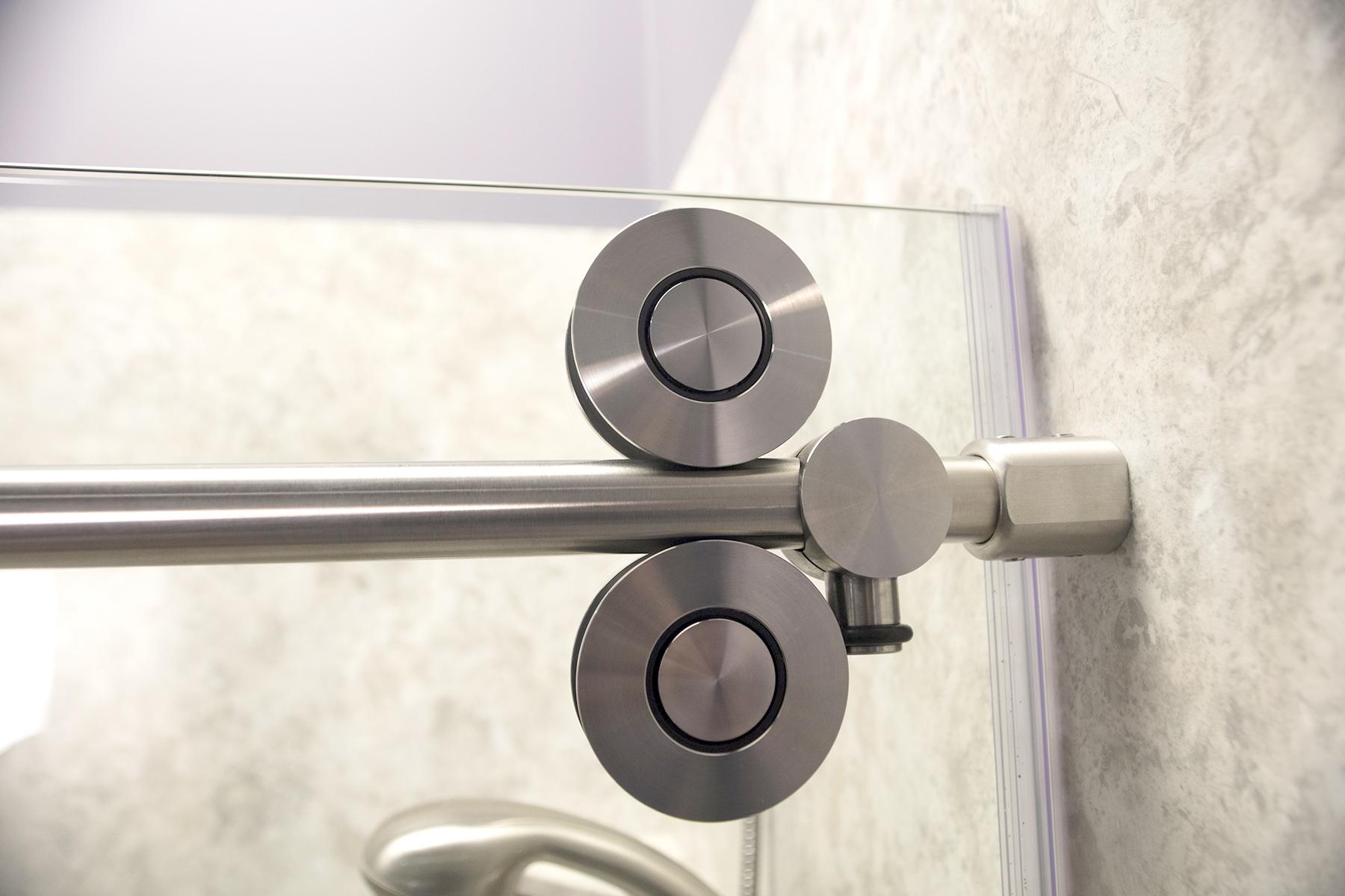 Shower doors Cayman BN Round Roller